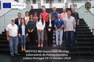 SHUTTLE Lisbon Meeting Group Photo