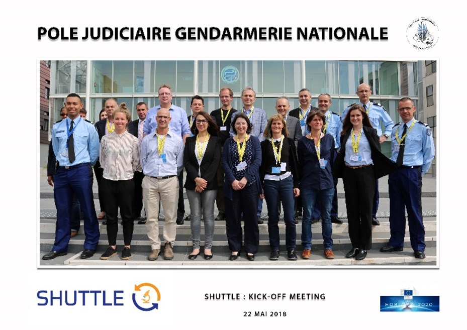 Kick-off meeting on 22-23 May 2018 in Pontoise, France